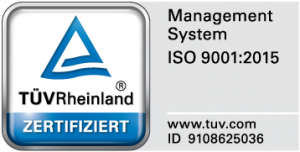 Quality mark ISO 9001:2015